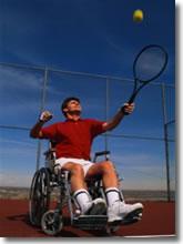 kit per sportivi disabili